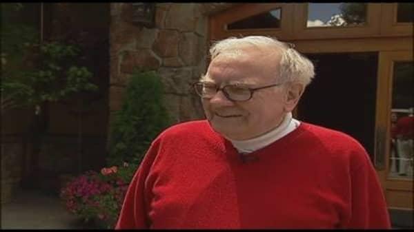 Buffett in Sun Valley