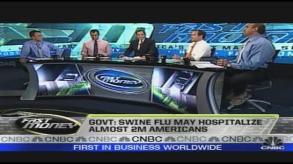 Prop Desk: Swine Flu Round Two
