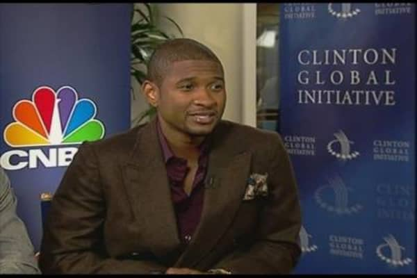 Usher at the CGI