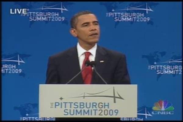 President Obama: G-20 & Iran