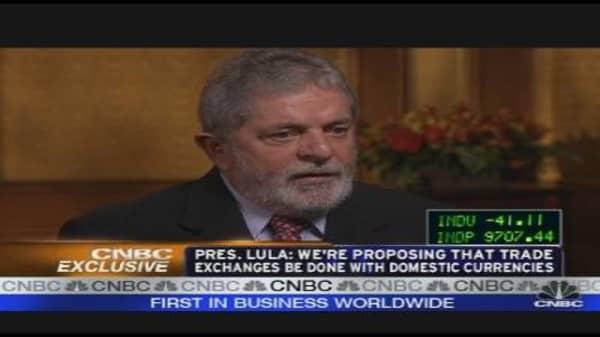 Brazilian President on His Country's Economy