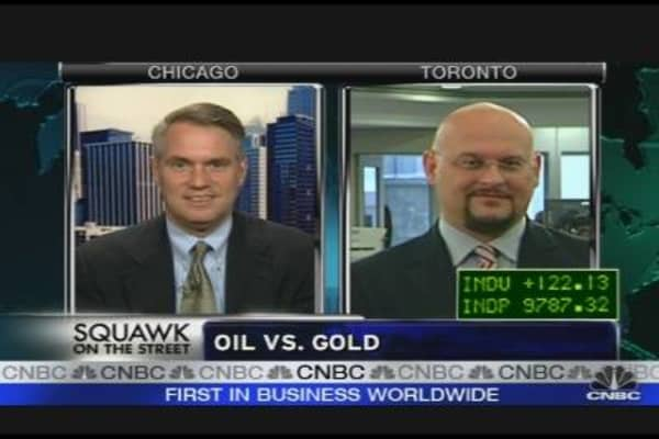 Commodity Showdown: Gold vs. Oil