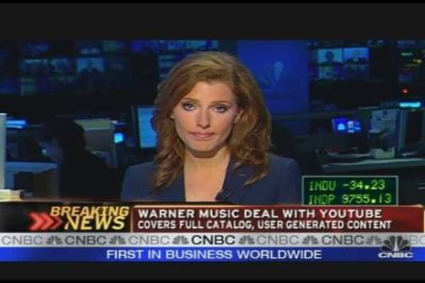 YouTube, Warner Music Announce Deal