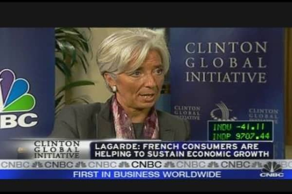 Lagarde on Financial Crisis
