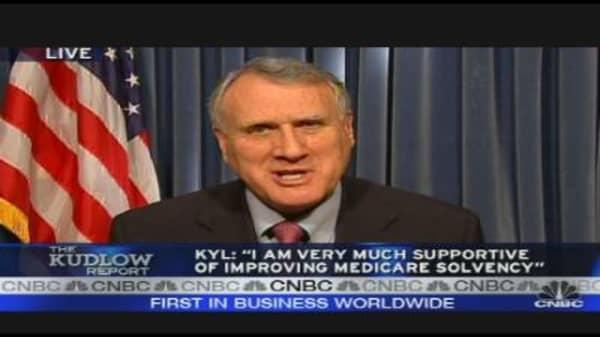 Sen. Kyl Rejects Public Option