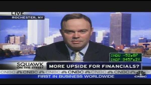 More Upside for Financials?