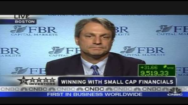 Winning With Small Cap Financials