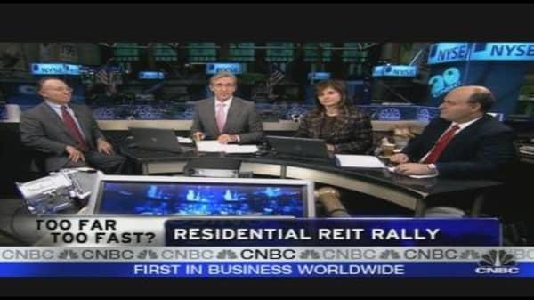 Residential REIT Rally