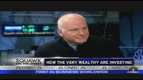 How the Very Wealthy Are Investing
