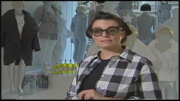 Norma Kamali and Skype