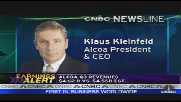 Alcoa CEO on Earnings