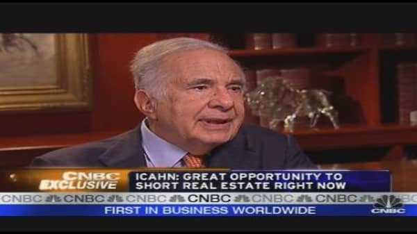Icahn: Market Acting