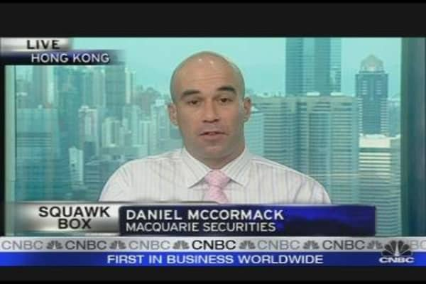 Asian Equities Losing Attractiveness