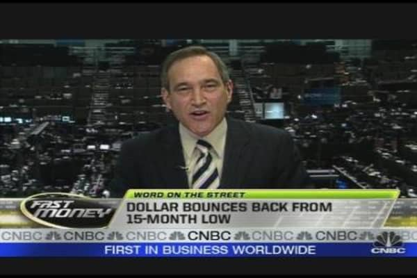 Dollar Bounces Back