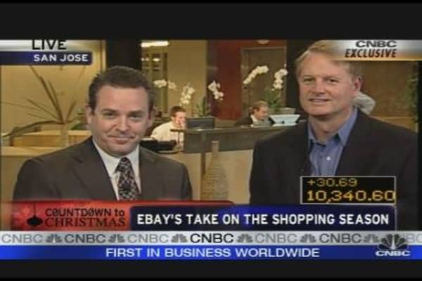 Ebay's CEO on Shopping Season