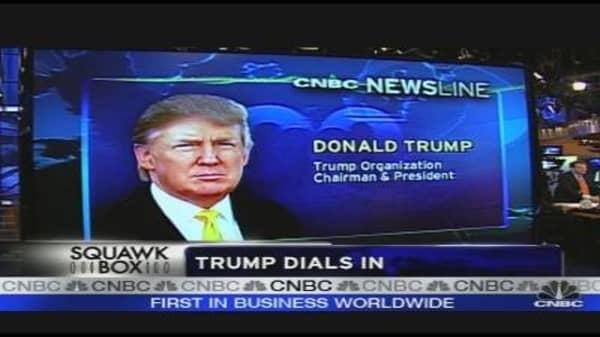 Trump Dials In