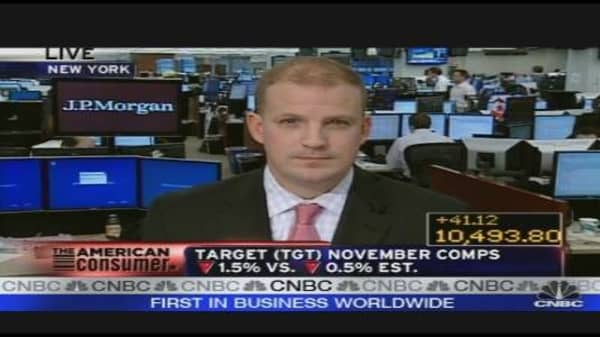 Most Retailers Miss November Estimates