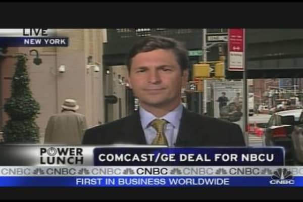 Comcast/GE Deal for NBCU