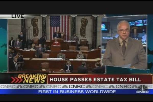 House Passes Estate Tax