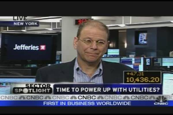 Time to Power Up With Utilities?