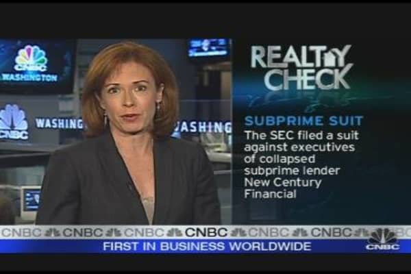 Realty Check: SEC Sues New Century Employees