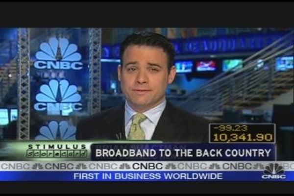 Stimulus Scorecard: Broad-Reaching Broadband