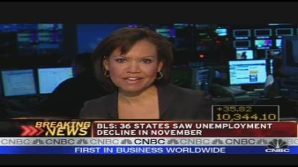 Unemployment Improving