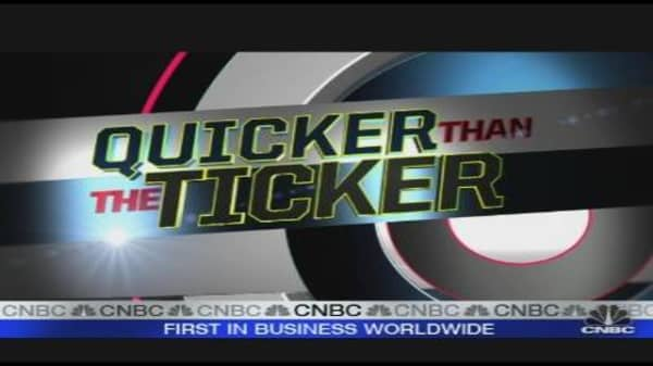 Quicker Than the Ticker