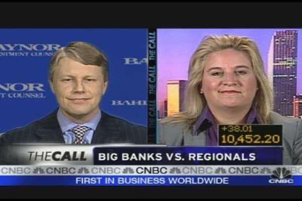 Making Money: Big Banks vs. Regionals