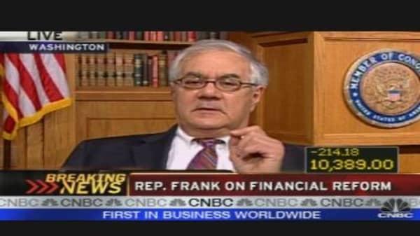 Rep. Frank on Reform