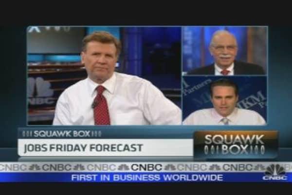 Jobs Friday Forecast