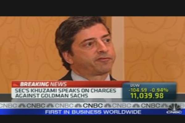 SEC's Khuzami on Goldman