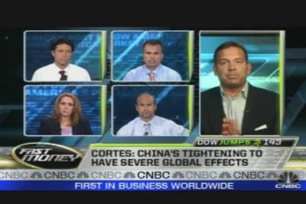 Chartology: China Falling