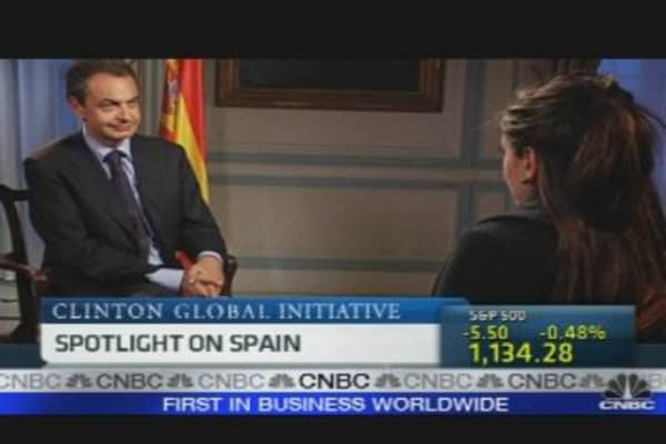 One-on-One With Spain's Prime Minister