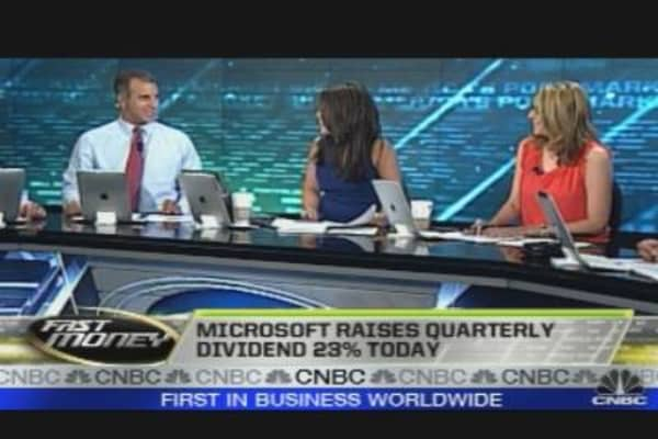 Microsoft Drags on Dow
