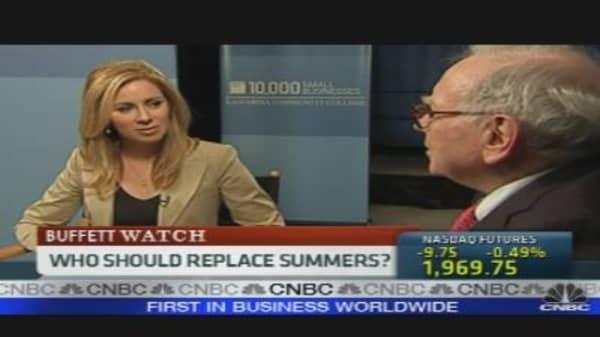 Buffett On Summers, Taxes