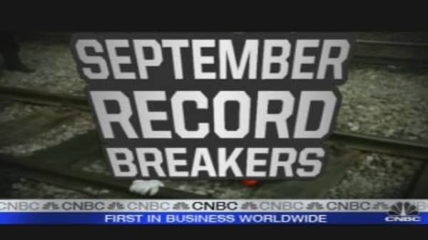September's Record Breakers