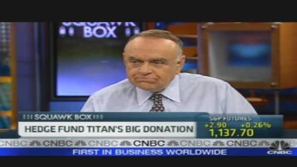 Hedge Fund Titan's Big Donation