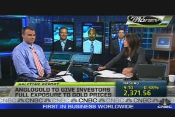 AngloGold CEO Shares Gold Strategy
