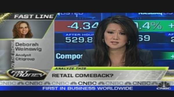 Analyze This: Retail Comeback?