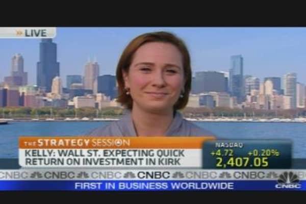 Wall Street's Favorite Senate Candidate