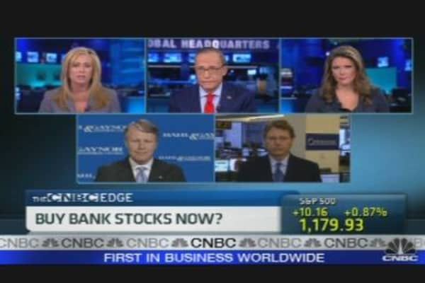 Buy Bank Stocks Now?