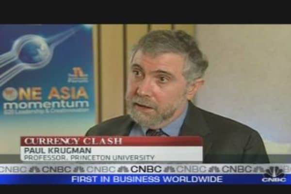 Krugman: China is 'Bad Guy' in Currency War