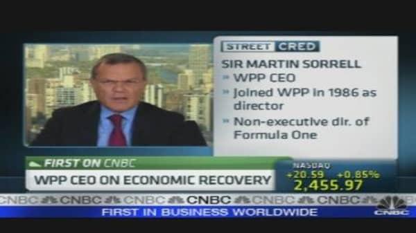 WPP CEO on Economic Recovery