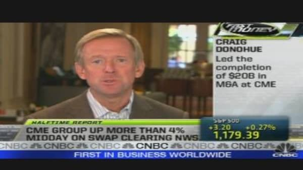 CME Chairman on Clearing Interest Rate Swaps