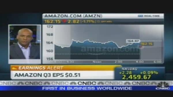 Amazon Earnings Reaction
