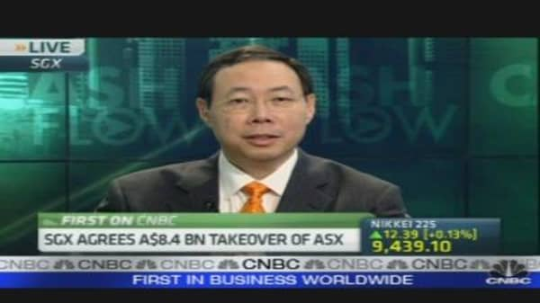SGX to Buy ASX For $8.3 Billion