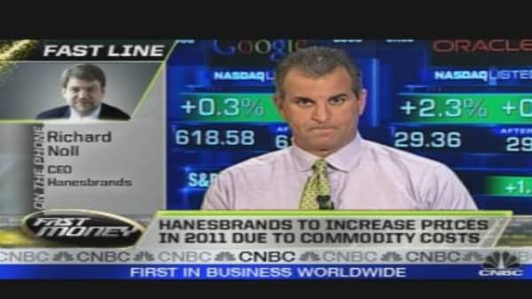 Call to the Floor: Hanesbrands