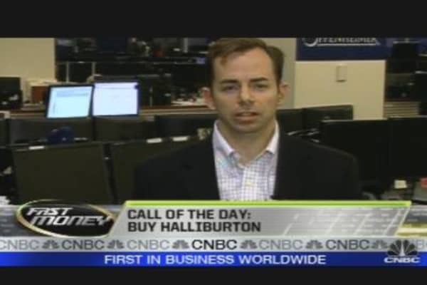 Call of the Day: Halliburton