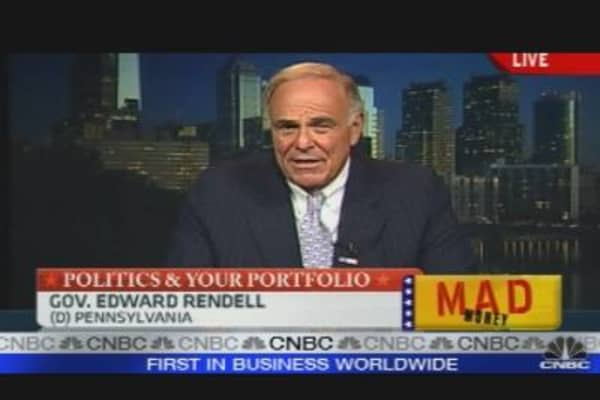 Gov. Rendell Talks Nat Gas